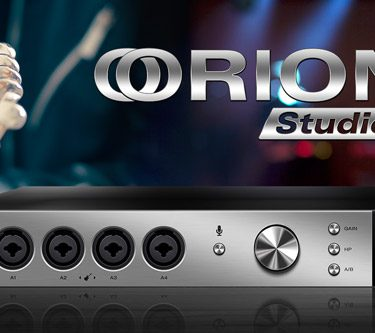 Orion Studio - Thunderbolt ™ and USB Studio Interface