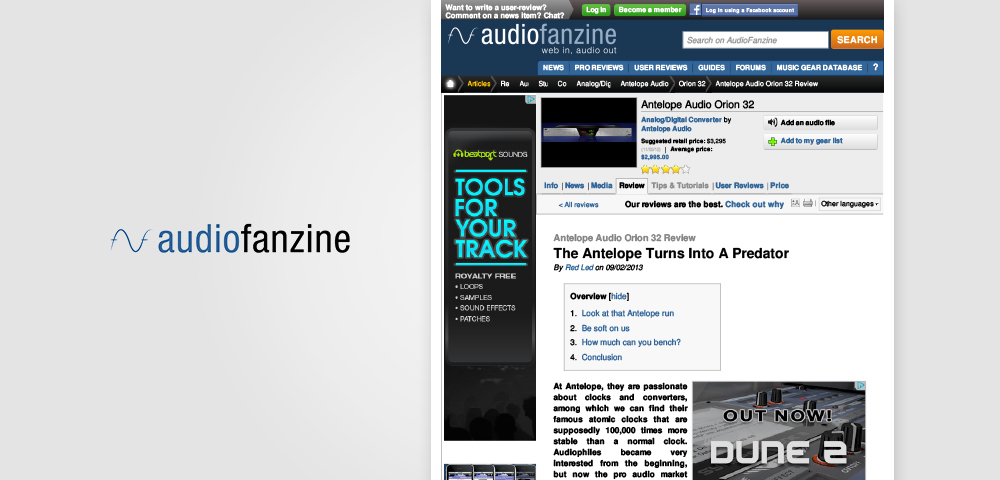 audio fanzine orion32