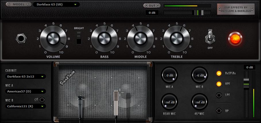 fx amp darkface