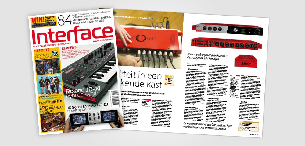 interface magazine zen studio