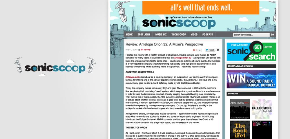 sonicscoop orion32