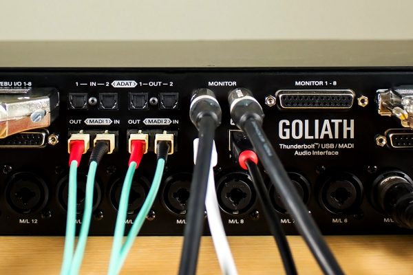 Goliath the most powerful audio interface on the market