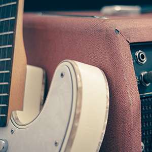 Hardware-based vintage audio guitar effects