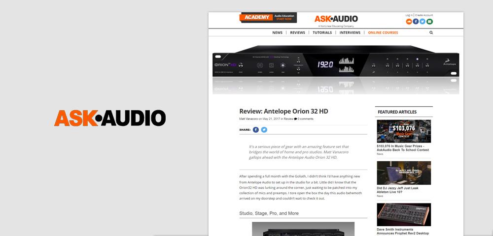 ask audio o32hd