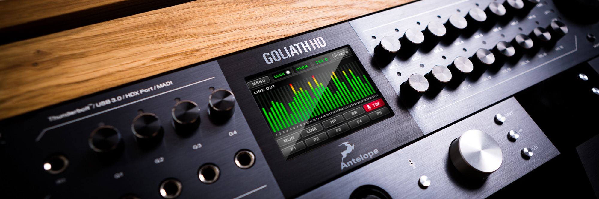 Antelope Audio releases the Goliath HD