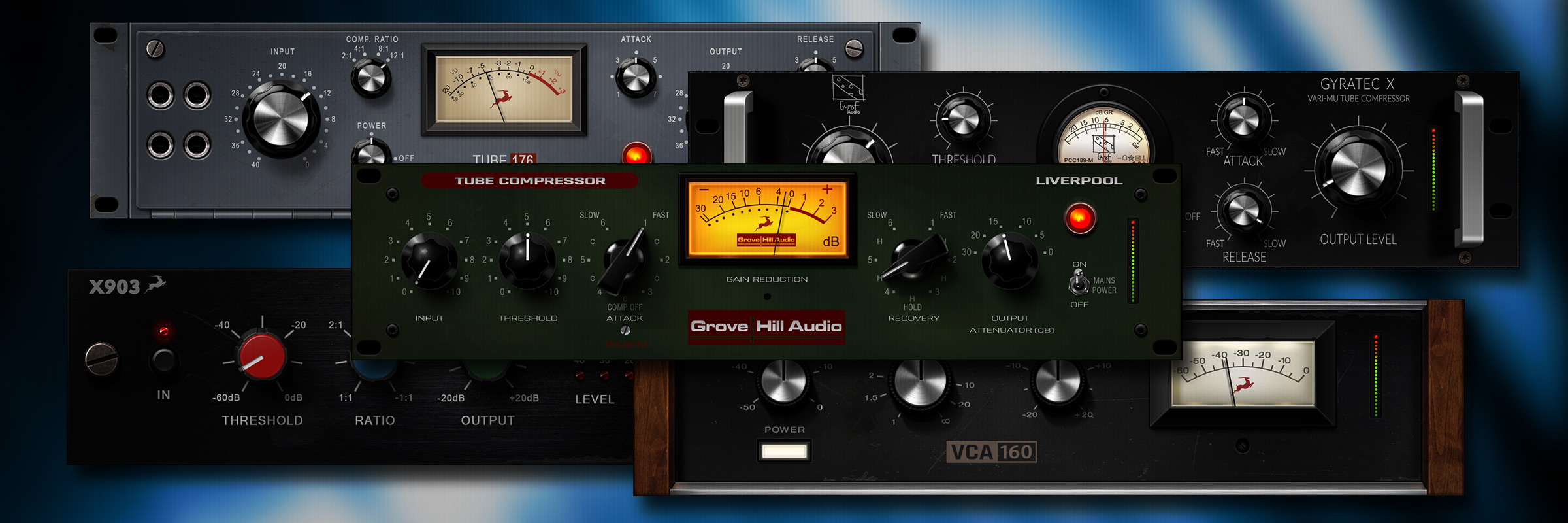 Five new vintage compressor FX you can get only from Antelope Audio
