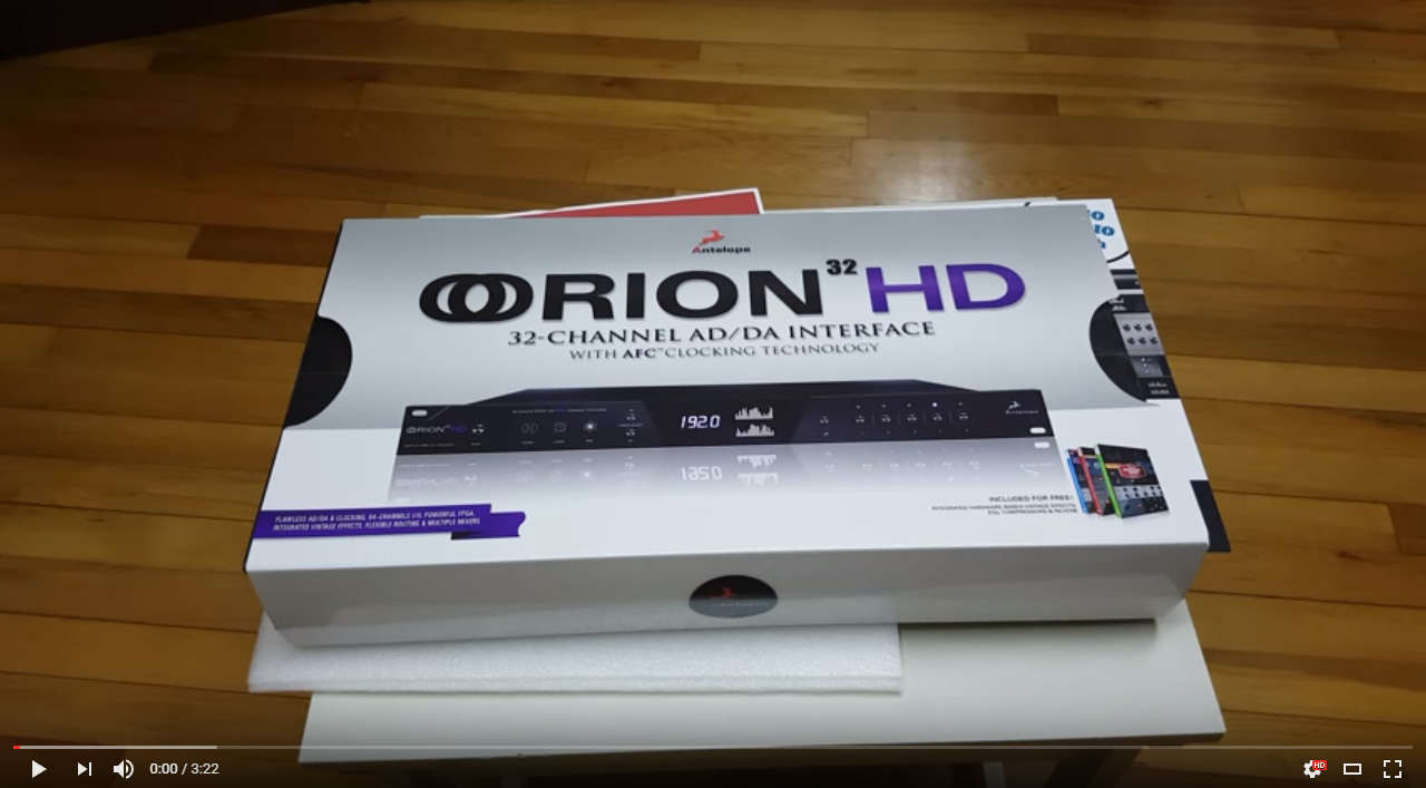 unboxing orion32hd