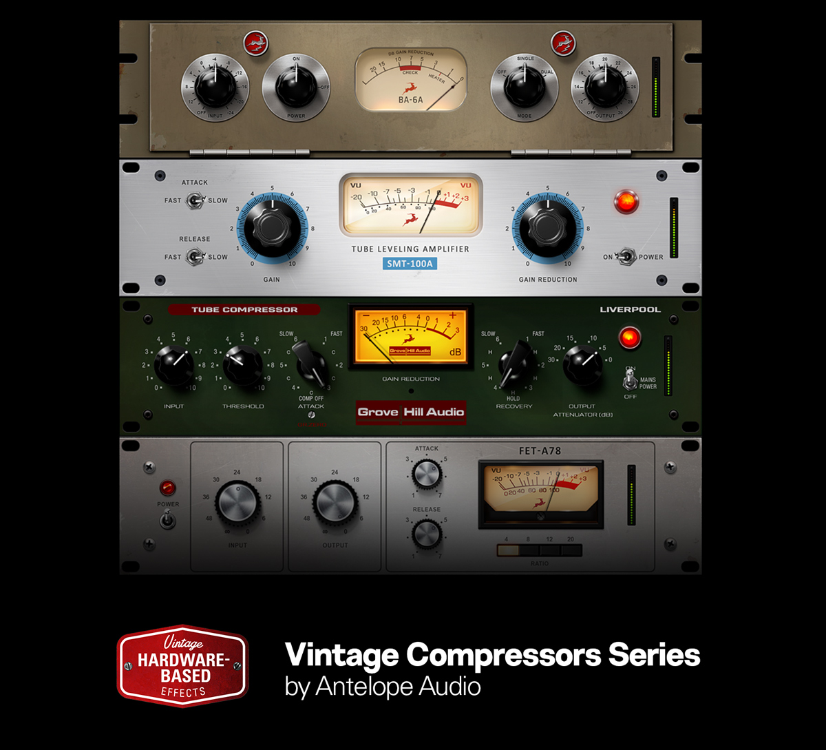 Compression quadrilogy triumph for Antelope's hardware-based effects library