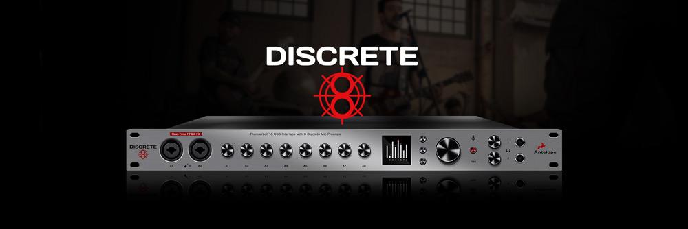 Discrete 8