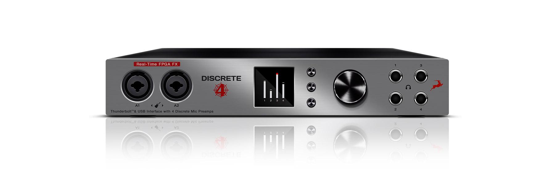 discrete 4 ユーザーマニュアル antelope audio