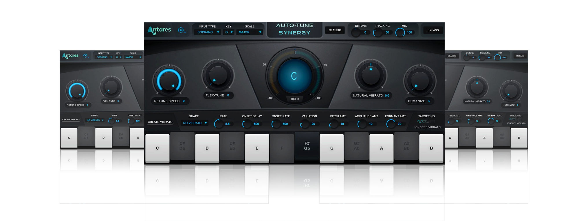 Auto Tune Synergy interface  1